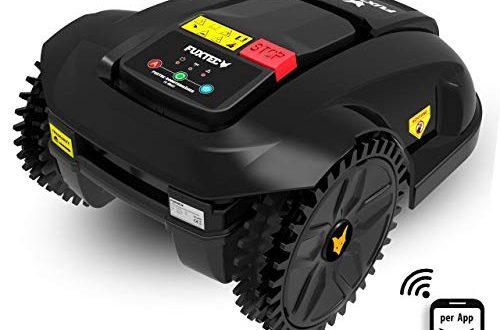 Fuxtec Maehroboter FX RB122 Akku Rasenmaeher ideal zum maehen von Flaechen 500x330 - Fuxtec Mähroboter FX-RB122 Akku Rasenmäher ideal zum mähen von Flächen bis 1000m²- Steuerung per App möglich