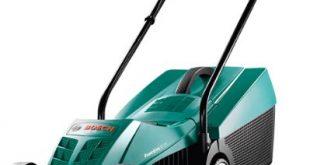 Bosch Rasenmaeher Rotak 32 1200 W Grasfangbox 31 l Schnittbreite 310x165 - Bosch Rasenmäher Rotak 32 (1200 W, Grasfangbox 31 l, Schnittbreite: 32 cm, Schnitthöhe: 20-60 mm, im Karton)