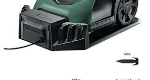 Bosch Roboter Rasenmaeher Indego S 350 mit App Funktion 19 cm 310x165 - Bosch Roboter Rasenmäher Indego S+ 350 (mit App-Funktion, 19 cm Schnittbreite, für Rasenflächen bis 350 m²)